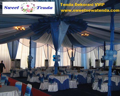 Tenda Dekorasi VVIP