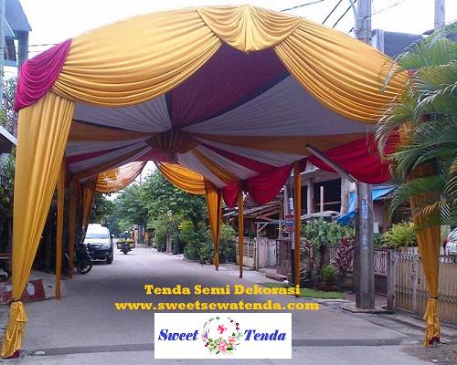 Tenda Semi Dekorasi